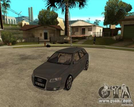 Audi A4 2005 Avant 3.2 quattro for GTA San Andreas