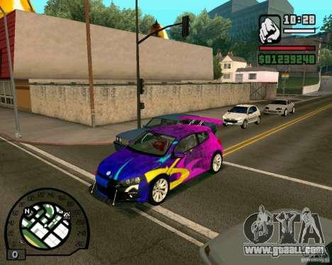 Volswagen Scirocco for GTA San Andreas left view