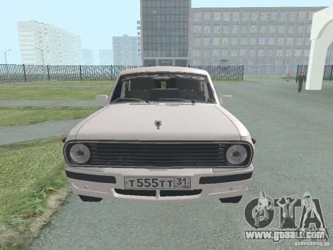 GAZ-24 Volga 105 for GTA San Andreas right view