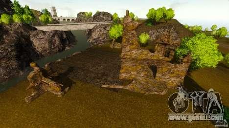 Countryside Mountains V for GTA 4 second screenshot