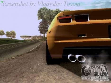 Chevrolet Camaro ZL1 2012 for GTA San Andreas side view