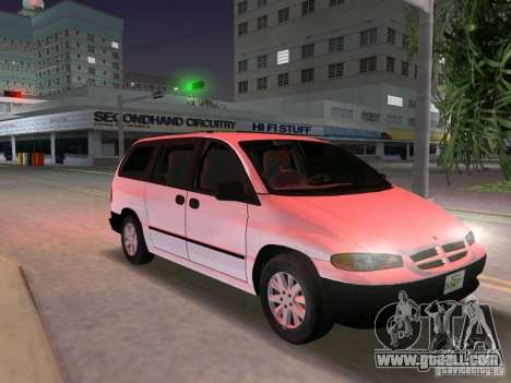 Dodge Grand Caravan for GTA Vice City