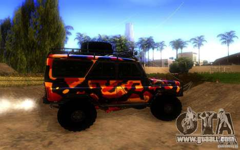 UAZ 4 x 4 for GTA San Andreas left view