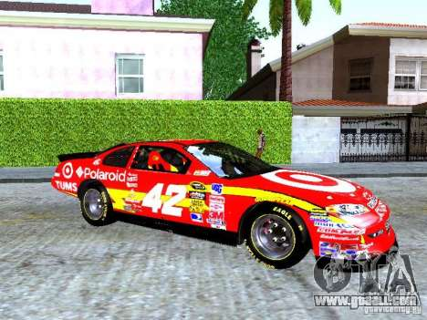 Chevrolet Impala SS Nascar Nr.88 for GTA San Andreas back left view