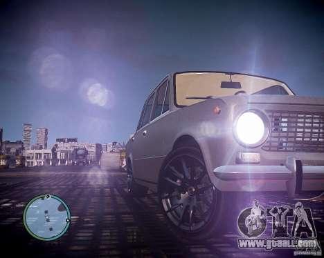 VAZ 2101 1972 Tun for GTA 4