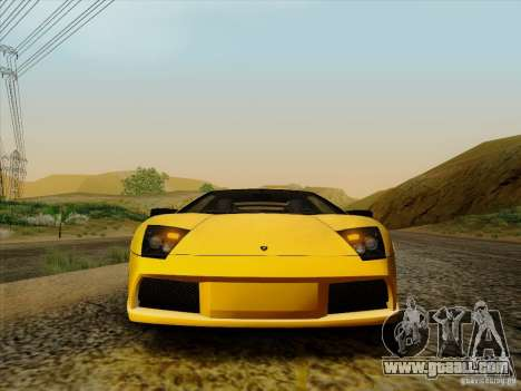 Lamborghini Murcielago LP640-4 for GTA San Andreas right view