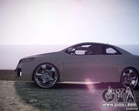 Kia Cerato Koup 2011 for GTA 4 right view