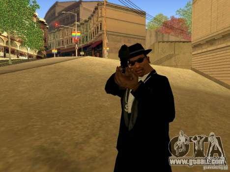 Desert Eagle MW3 for GTA San Andreas fifth screenshot