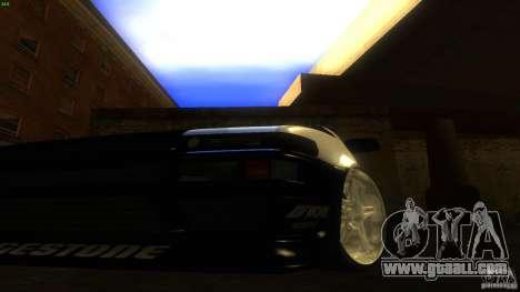 Toyota AE86 Trueno Touge Drift for GTA San Andreas inner view