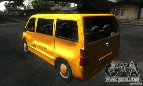 Mercedes Vito for GTA San Andreas back left view