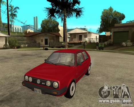 Volkswagen Golf Mk.II for GTA San Andreas
