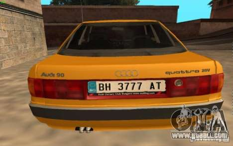 Audi 90 Quattro 20V for GTA San Andreas left view