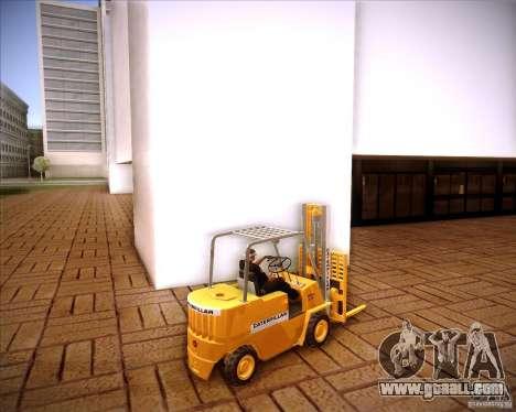 Caterpillar Torocat for GTA San Andreas left view