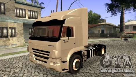 KAMAZ 5460 Euro 3420 Turbo for GTA San Andreas side view