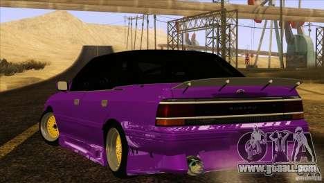 Subaru Legacy Drift Union for GTA San Andreas left view