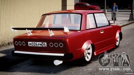 VAZ 2101 Redline for GTA 4 inner view