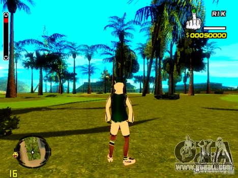 Skin bum v5 for GTA San Andreas third screenshot