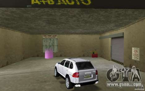 Porsche Cayenne for GTA Vice City back left view