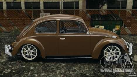 Volkswagen Fusca Gran Luxo v2.0 for GTA 4 left view