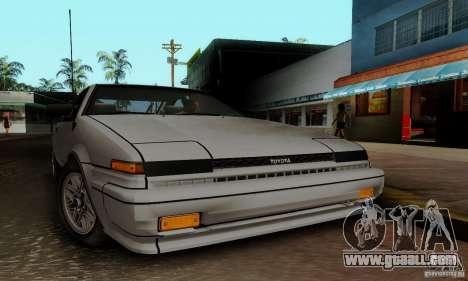 Toyota Corolla GT-S for GTA San Andreas