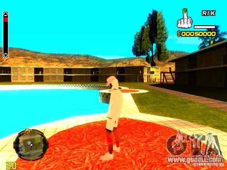 Skin bum v9 for GTA San Andreas sixth screenshot