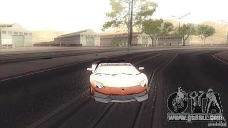 2013 Lamborghini Aventador LP700-4 Roadstar for GTA San Andreas left view