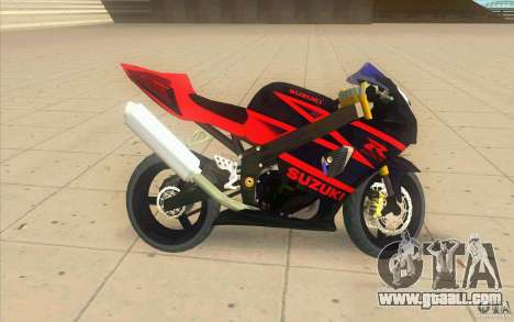 Suzuki GSXR 1000 for GTA San Andreas left view