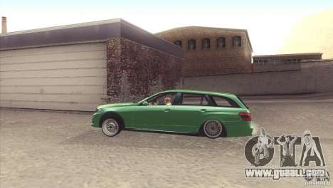Mercedes-Benz E-Class Estate S212 for GTA San Andreas right view