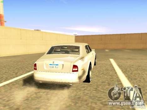 Rolls-Royce Phantom V16 for GTA San Andreas left view