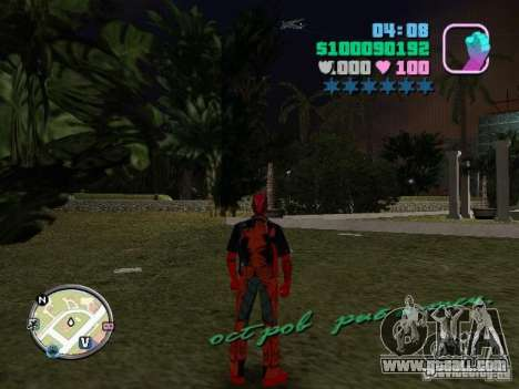 Deadpool for GTA Vice City second screenshot