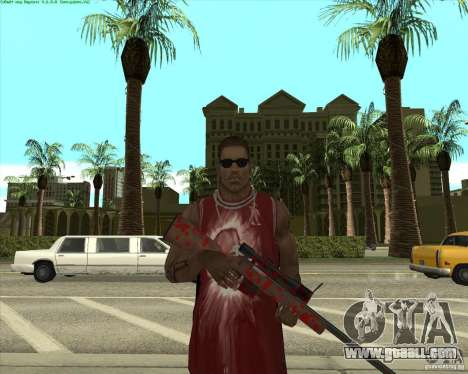 Blood Weapons Pack for GTA San Andreas ninth screenshot