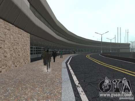 New Airport San Fierro for GTA San Andreas