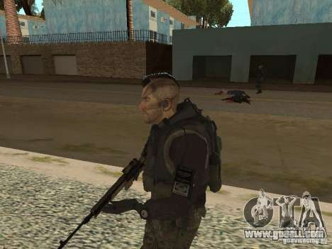 Captain MacTavish for GTA San Andreas forth screenshot