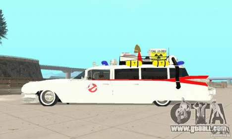 Ghostbusters ECTO 1 for GTA San Andreas right view
