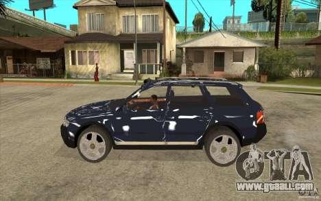Audi Allroad Quattro for GTA San Andreas left view