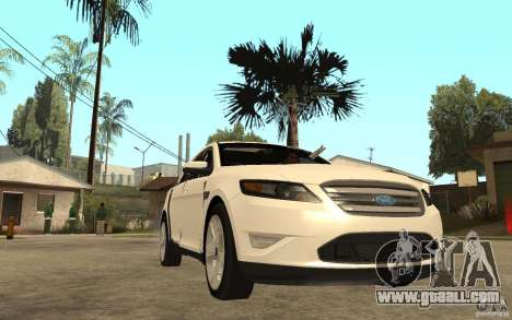 Ford Taurus 2010 for GTA San Andreas back view
