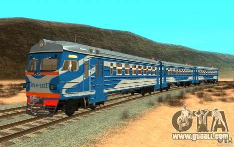 Train ER2-K-1321 for GTA San Andreas