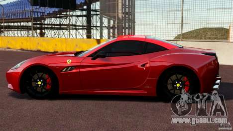 Ferrari California Novitec for GTA 4 left view