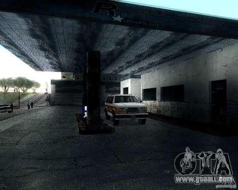 Landstalker for GTA San Andreas inner view