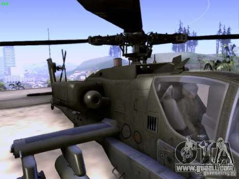 HD Hunter for GTA San Andreas bottom view