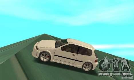 Honda Civic SiR II Tuning for GTA San Andreas left view