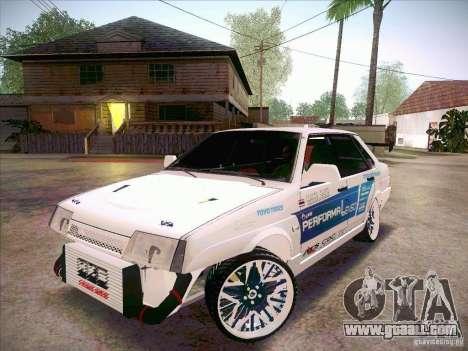 VAZ 21099 Drift Style for GTA San Andreas