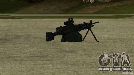 M240 for GTA San Andreas