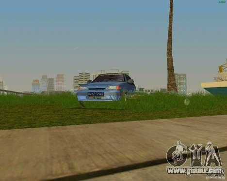 Lada Samara 3doors for GTA Vice City back left view