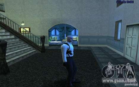 Agent 47 for GTA San Andreas fifth screenshot