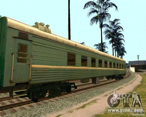 The car of the Russian railways 2 for GTA San Andreas