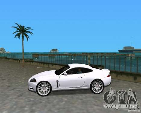 Jaguar XKR S for GTA Vice City left view