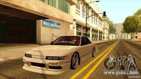 Nissan Silvia S13 MyGame Drift Team for GTA San Andreas side view
