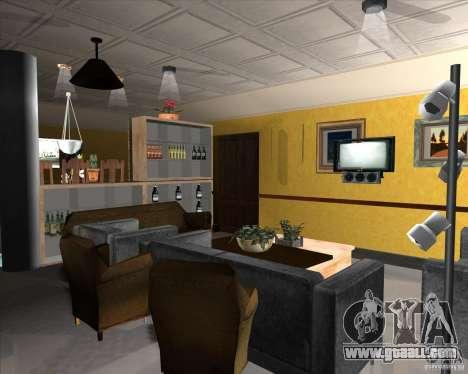 New Interior of CJs House for GTA San Andreas tenth screenshot