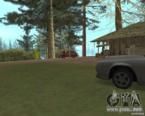 On a visit to Grandma for GTA San Andreas second screenshot
